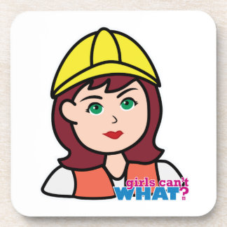 Construction Worker Coasters