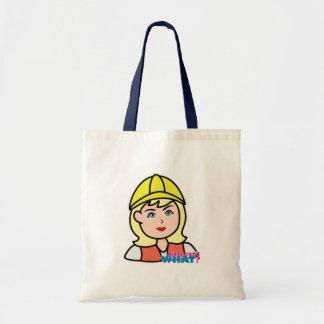 Construction Worker Head Light/Blonde Bag