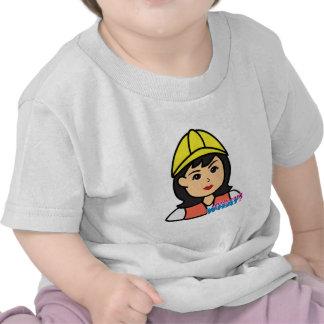 Construction Worker Head Medium Tee Shirt