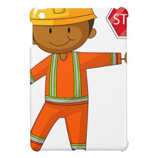 Construction worker iPad mini cases