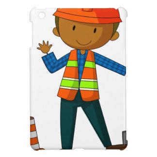 Construction worker iPad mini covers