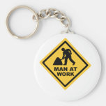 Construction Worker Key Chains