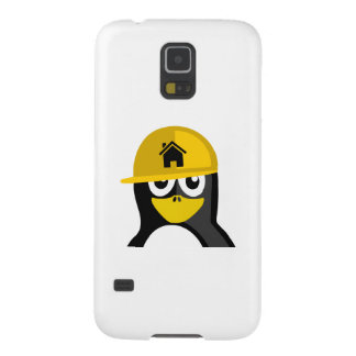 Construction Worker Penguin Cases For Galaxy S5
