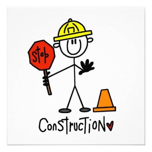 Construction Worker Stick Figure Pictures To Pin On