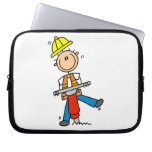 Construction  Worker With Jack Hammer Gifts Laptop Sleeves