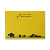 Construction Workers Equipment Post-it® Notes