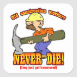 Construction Workers Sticker