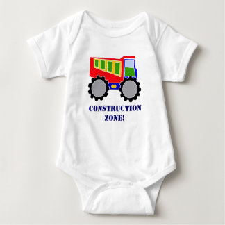 Construction Zone Baby Bodysuit