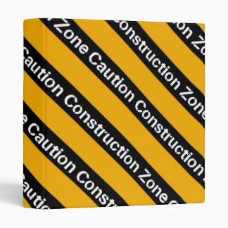 Construction Zone Binder