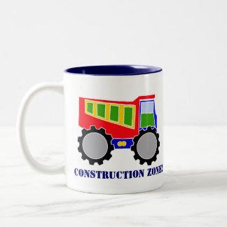 Construction Zone Two-Tone Coffee Mug