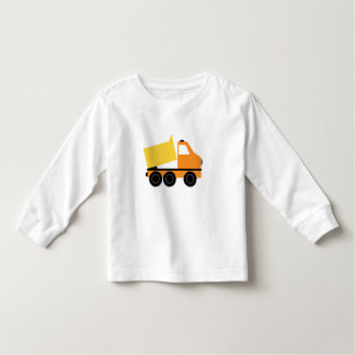 Construction Zone Party T-shirt with Dump Truck