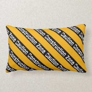Construction Zone Pillows