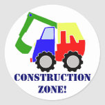 Construction Zone Stickers