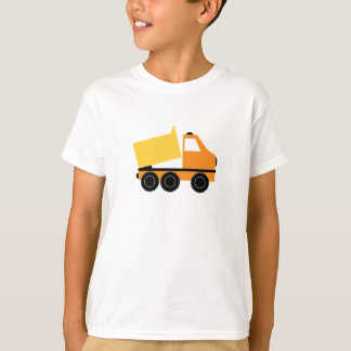 Construction Zone T-shirt with Dump Truck