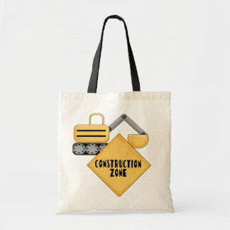 Construction Zone Tshirts and Gifts Tote Bag
