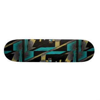Constructive Abstract Composition Skateboard