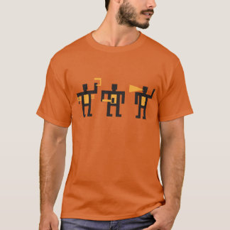 constructivist style little men T-Shirt