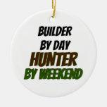 Constructor del cazador del día por fin de semana ornamento de reyes magos