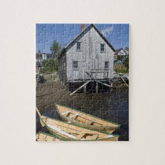 Constructor del Dory, Lunenburg, Nueva Escocia, Ca Puzzle