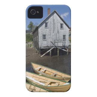 Constructor del Dory, Lunenburg, Nueva Escocia, iPhone 4 Case-Mate Carcasa