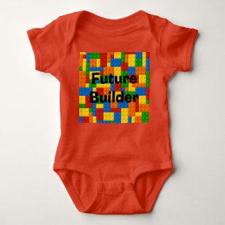 Constructor futuro - juego del cuerpo del bebé remera