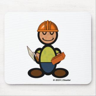 Constructor (llano) alfombrilla de raton