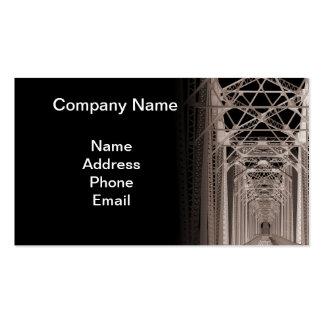 Constructores y arquitectos de puente tarjetas de visita