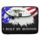 Construí mi negocio Obama Fundas Para Macbook Pro