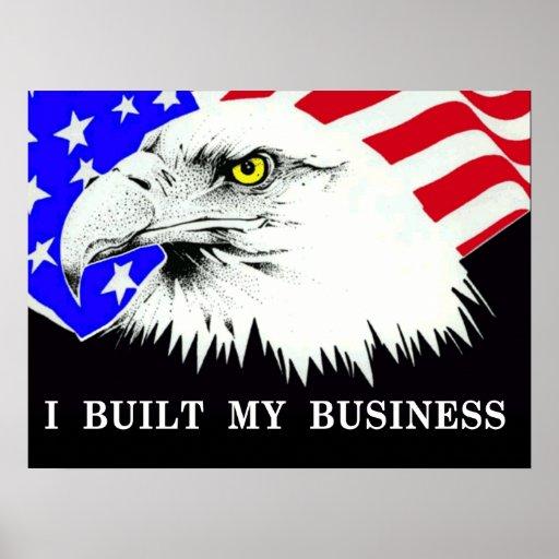 Construí mi poster político de Anti-Obama del nego