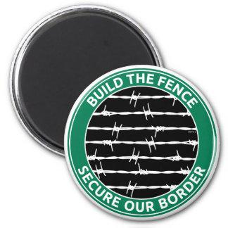 Construya la cerca imán redondo 5 cm