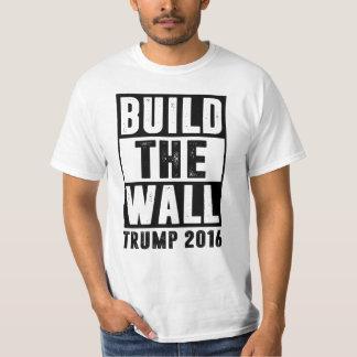 Construya la pared - triunfo 2016 remera