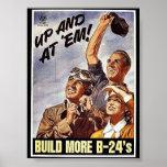 Construya más B-24 Posters