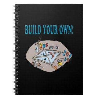 Construya sus los propios libro de apuntes