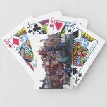Construya un mundo - cubierta de tarjetas barajas