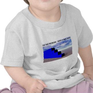Construya una pared real camiseta
