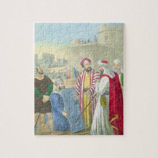 Construyendo la ciudad y la torre de Babel, de un  Puzzle