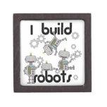 Construyo los robots cajas de recuerdo de calidad