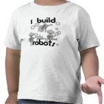 Construyo los robots camisetas