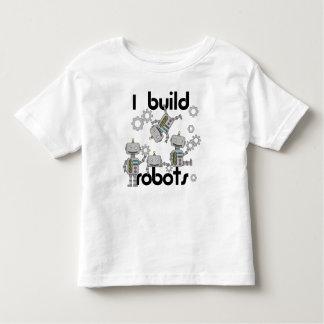 Construyo los robots playera de bebé
