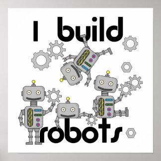 Construyo los robots póster