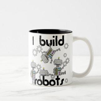 Construyo los robots tazas de café