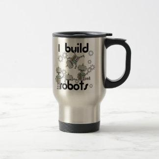Construyo los robots taza de viaje