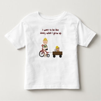 Constuction Worker's Son Toddler Tshirt