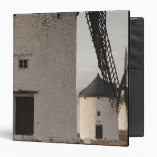 Consuegra, antique La Mancha windmills 2 3 Ring Binder