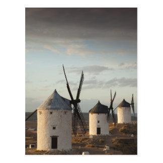 Consuegra, antique La Mancha windmills 5 Postcard