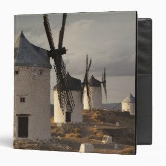Consuegra, antique La Mancha windmills 6 3 Ring Binder