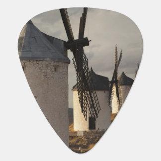 Consuegra, antique La Mancha windmills 6 Guitar Pick