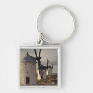 Consuegra, antique La Mancha windmills 6 Keychains