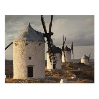 Consuegra, antique La Mancha windmills 6 Postcard