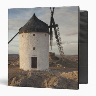 Consuegra, antique La Mancha windmills 7 3 Ring Binder